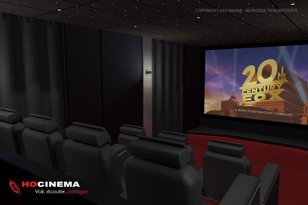 Des salles de cin ma la maison r alis es sur mesure - Faire une salle de cinema ...