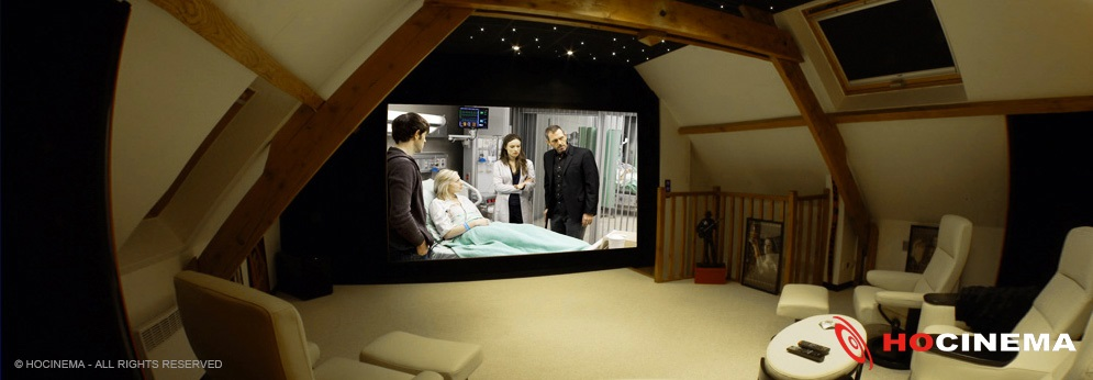 cinema chez soi une qualit acoustique et visuelle. Black Bedroom Furniture Sets. Home Design Ideas