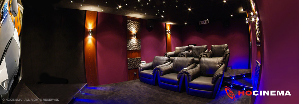 une salle cinema maison un r ve r aliser. Black Bedroom Furniture Sets. Home Design Ideas
