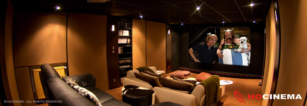 Creation D Une Salle Home Cinema Ecran Transonore