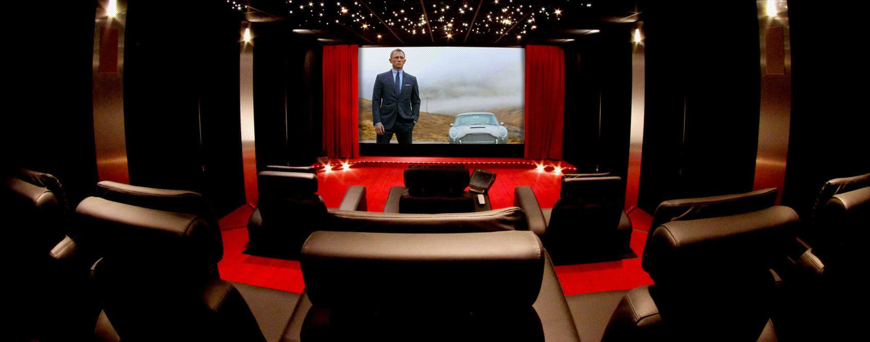 Hocinema l 39 expert de la salle de cin ma priv e la maison - Salle de cinema a la maison ...