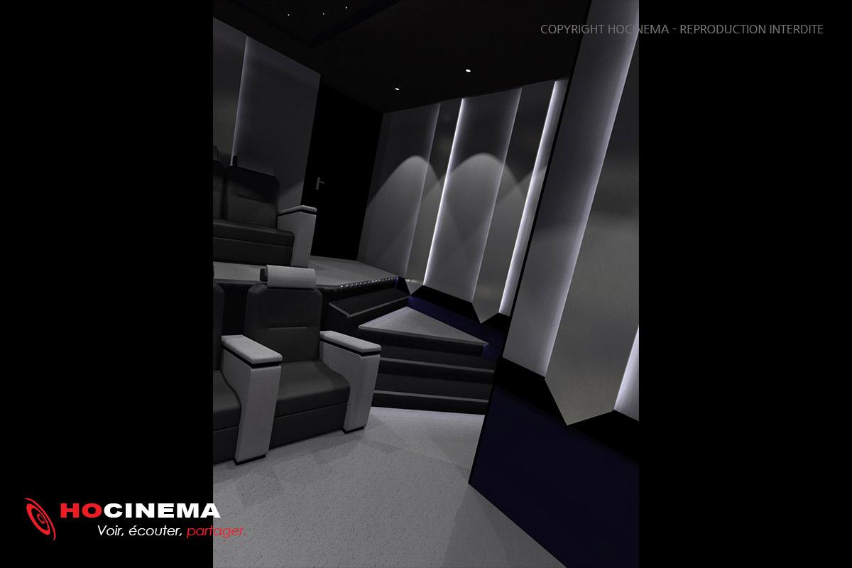 le concept 01c une salle de cin ma chez soi r alis e sur mesure. Black Bedroom Furniture Sets. Home Design Ideas
