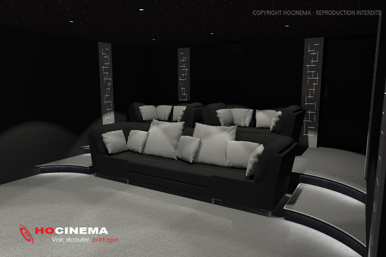 le concept 03c une salle de cin ma chez soi r alis e sur. Black Bedroom Furniture Sets. Home Design Ideas