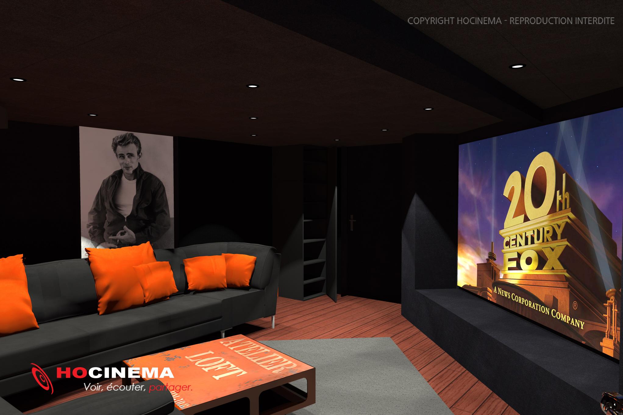 le concept 01g une salle de cin ma chez soi r alis e sur mesure. Black Bedroom Furniture Sets. Home Design Ideas