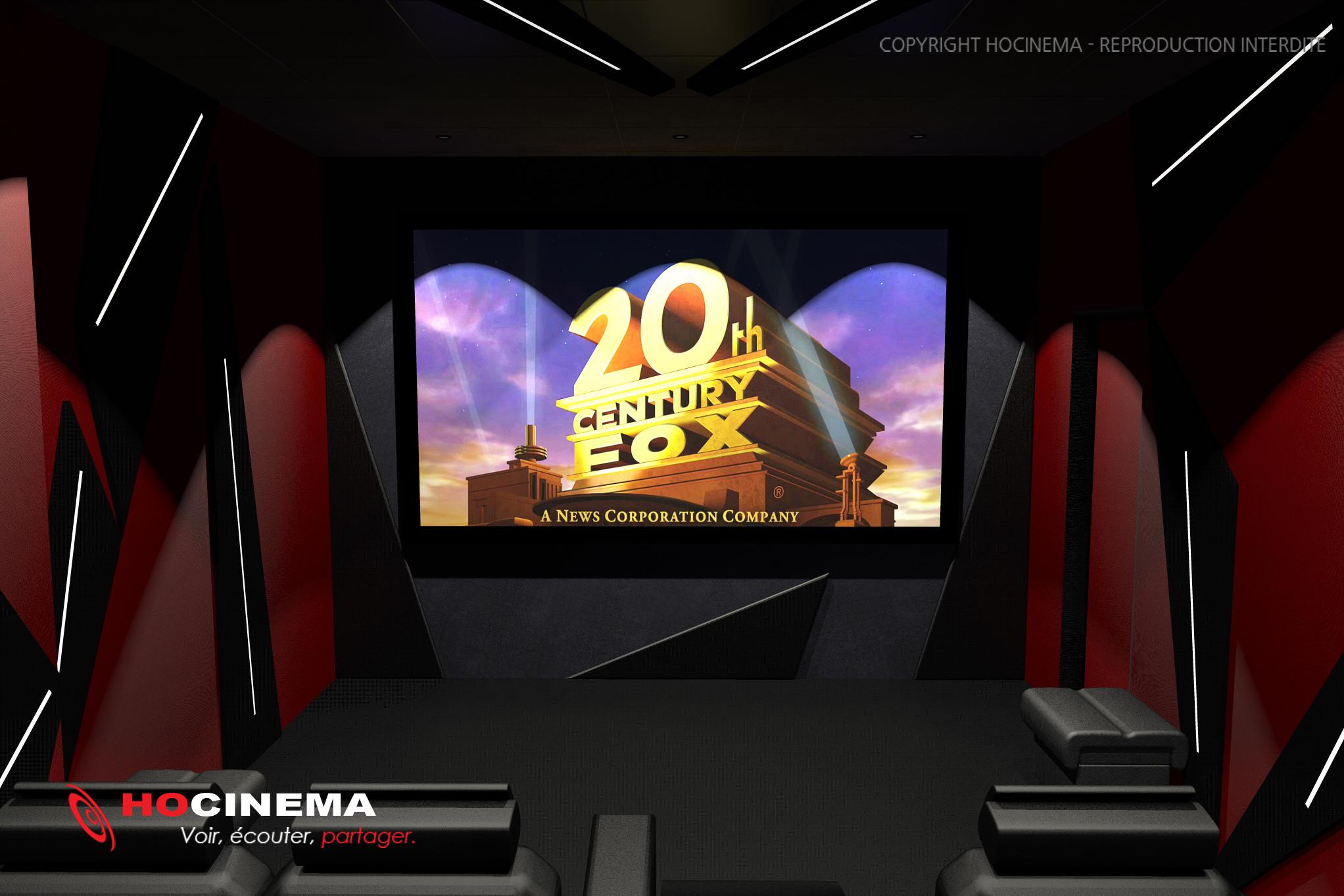 Assez Le concept-02G : une salle de cinéma chez soi réalisée sur mesure NM32
