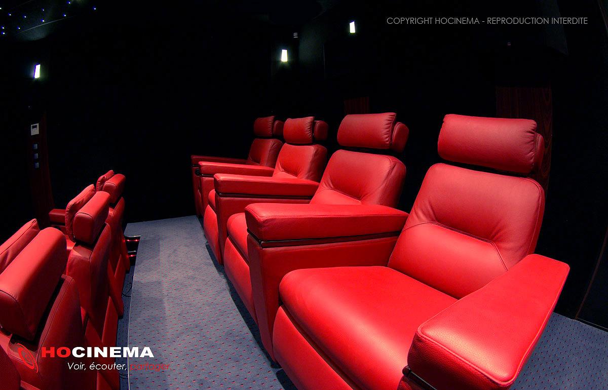Hocinema la salle de cin ma maison paris de 28 m2 en d tail - Salle cinema maison ...