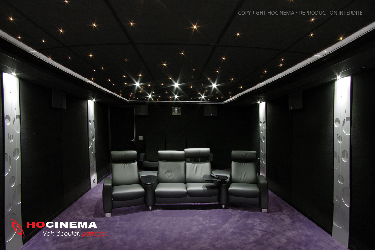 salle de cinma maison salle cinema maison leo salle. Black Bedroom Furniture Sets. Home Design Ideas