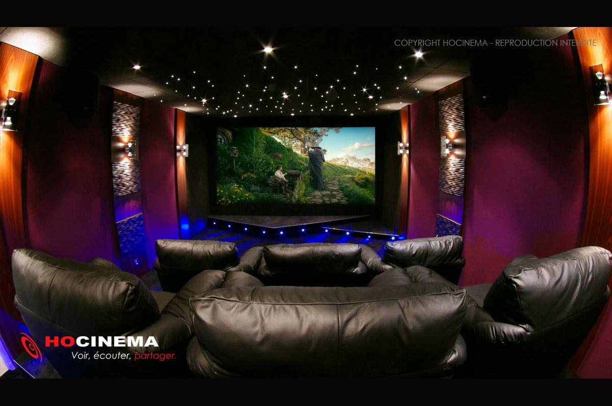 Hocinema la salle de cin ma maison hydrus en d tail - Salle cinema maison ...