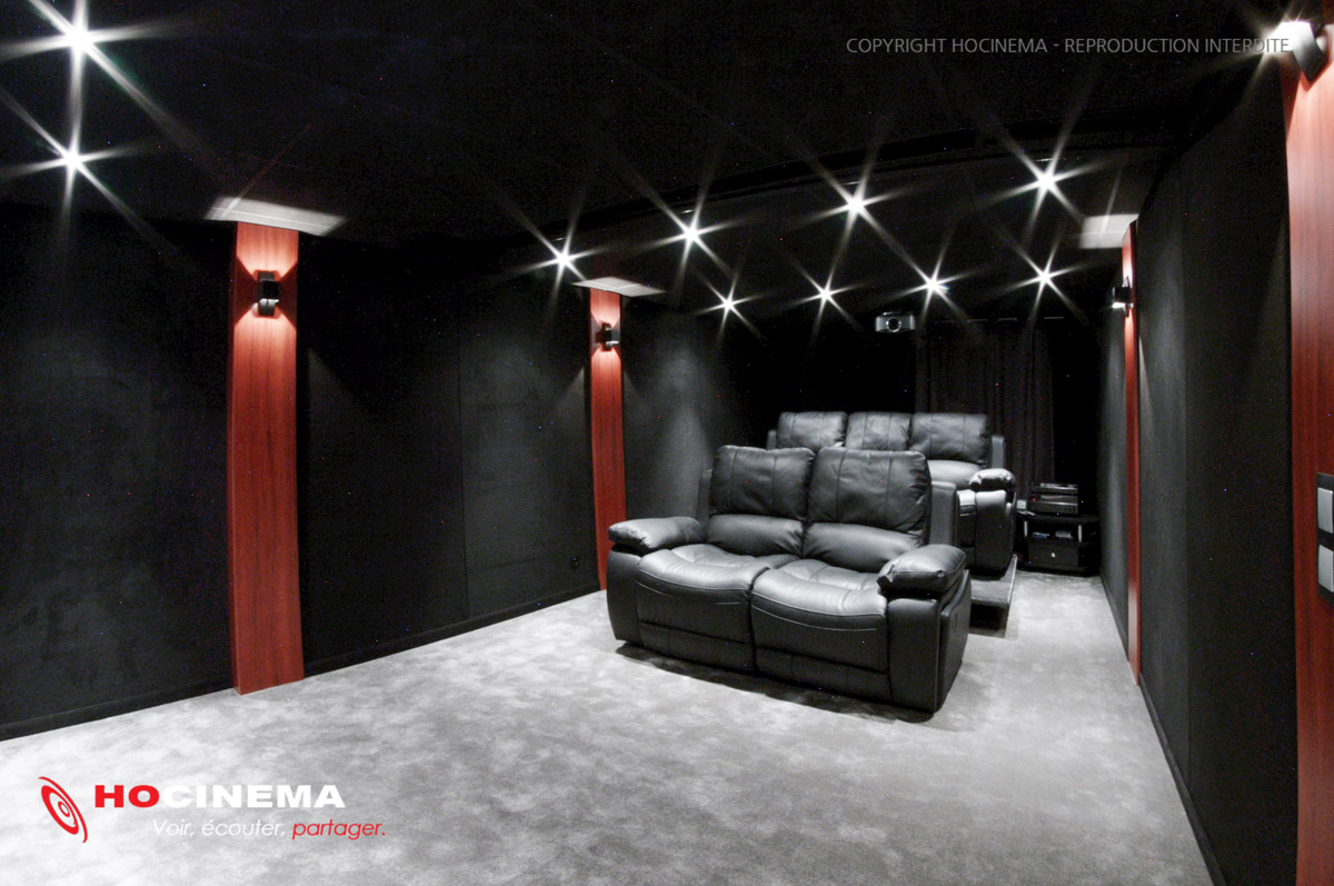 100 Incroyable Conseils Couleur Salle De Cinema Maison