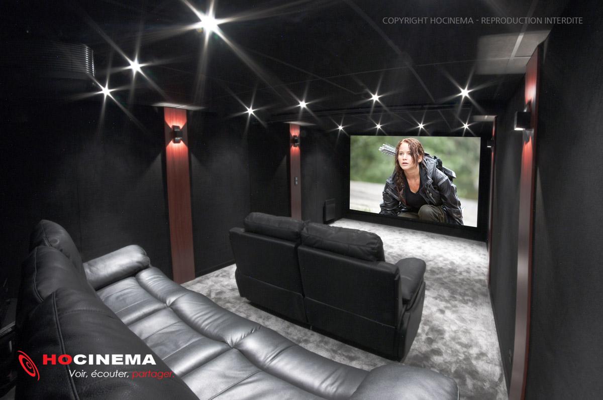 Hocinema la salle de cin ma maison oise de 27 m2 en d tail - Salle cinema maison ...