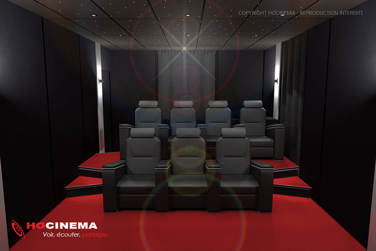 salle de cinema a la maison trendy chez soi pour profiter duune exprience cinma unique with. Black Bedroom Furniture Sets. Home Design Ideas
