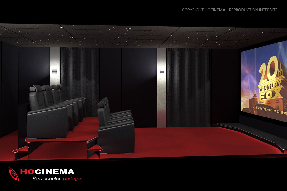 siege cinema maison latest sofa home cinema rf. Black Bedroom Furniture Sets. Home Design Ideas