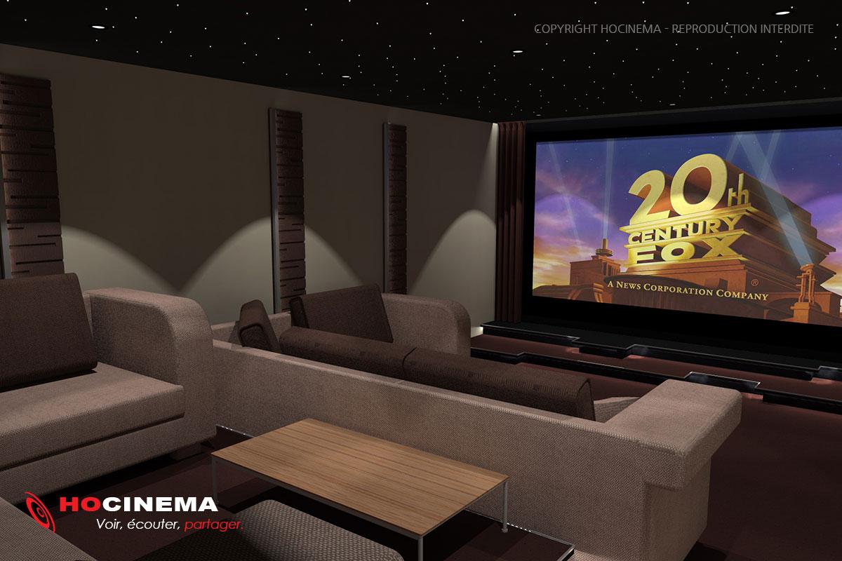 Le concept 07d une salle cin ma maison r alis e sur mesure - Salle de cinema maison ...