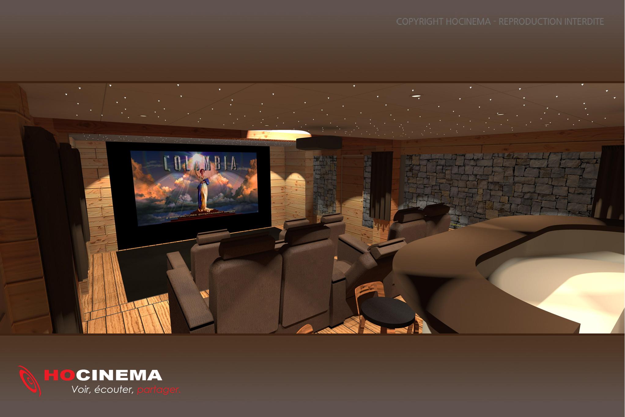 D coration salle de cinema a la maison 99 tourcoing - Salle de cinema a la maison ...