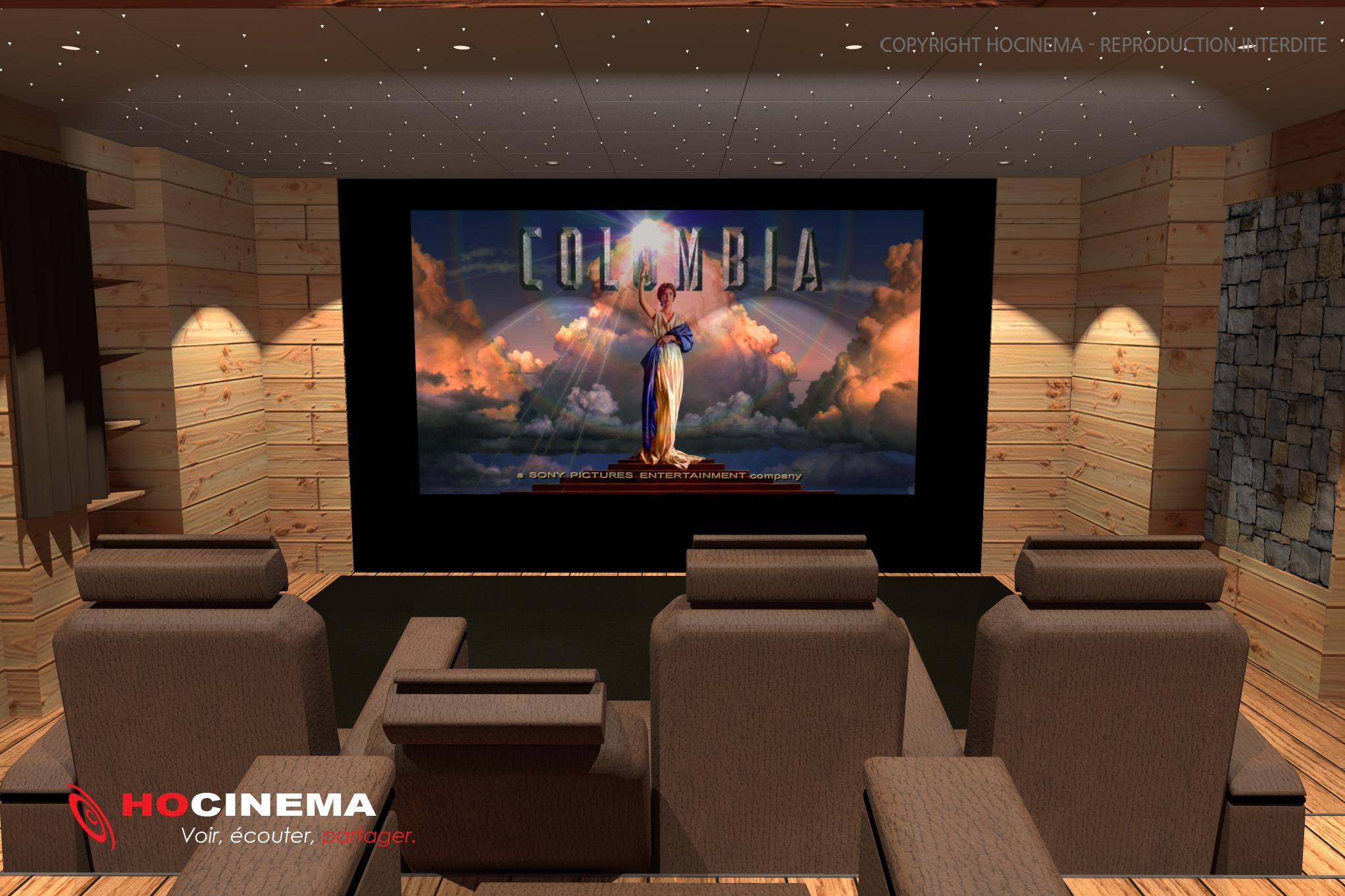Home Cinema Maison Affordable Automation System With Home Cinema  # Table Tv Avec Home Cinema