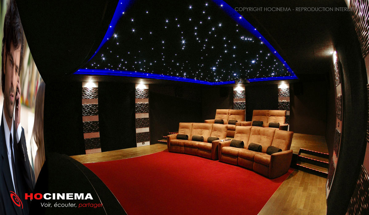 hocinema la salle de cin ma priv e monocerus en d tail. Black Bedroom Furniture Sets. Home Design Ideas