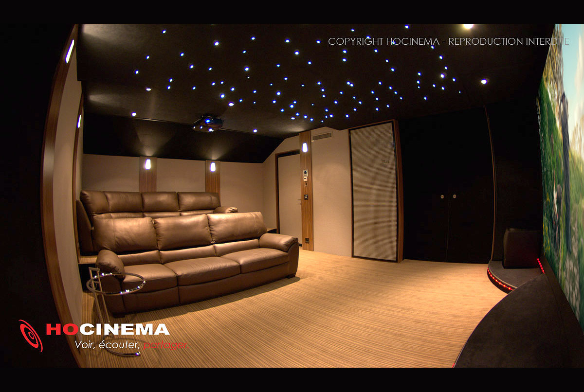 hocinema la salle home cin ma aries en d tail. Black Bedroom Furniture Sets. Home Design Ideas
