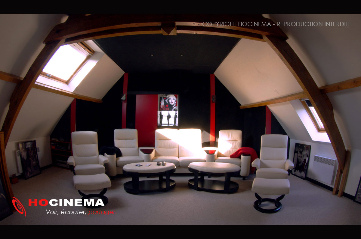 hocinema la salle home cin ma auriga en d tail. Black Bedroom Furniture Sets. Home Design Ideas