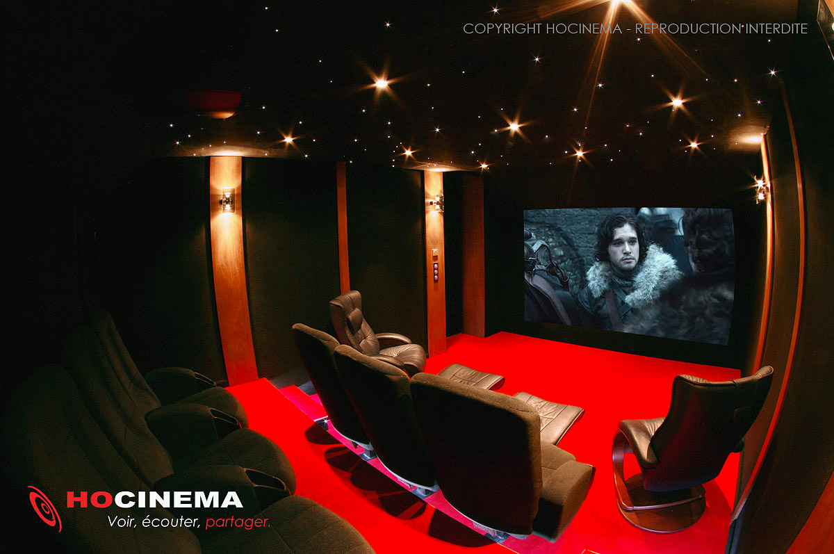 Hocinema la salle home cin ma cepheus en d tail - Salle home cinema maison ...