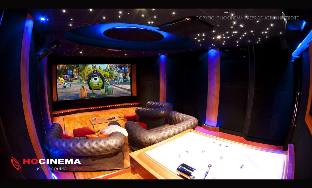 Hocinema La Salle De Cinema Privee A Yvelines De 36 M2 En