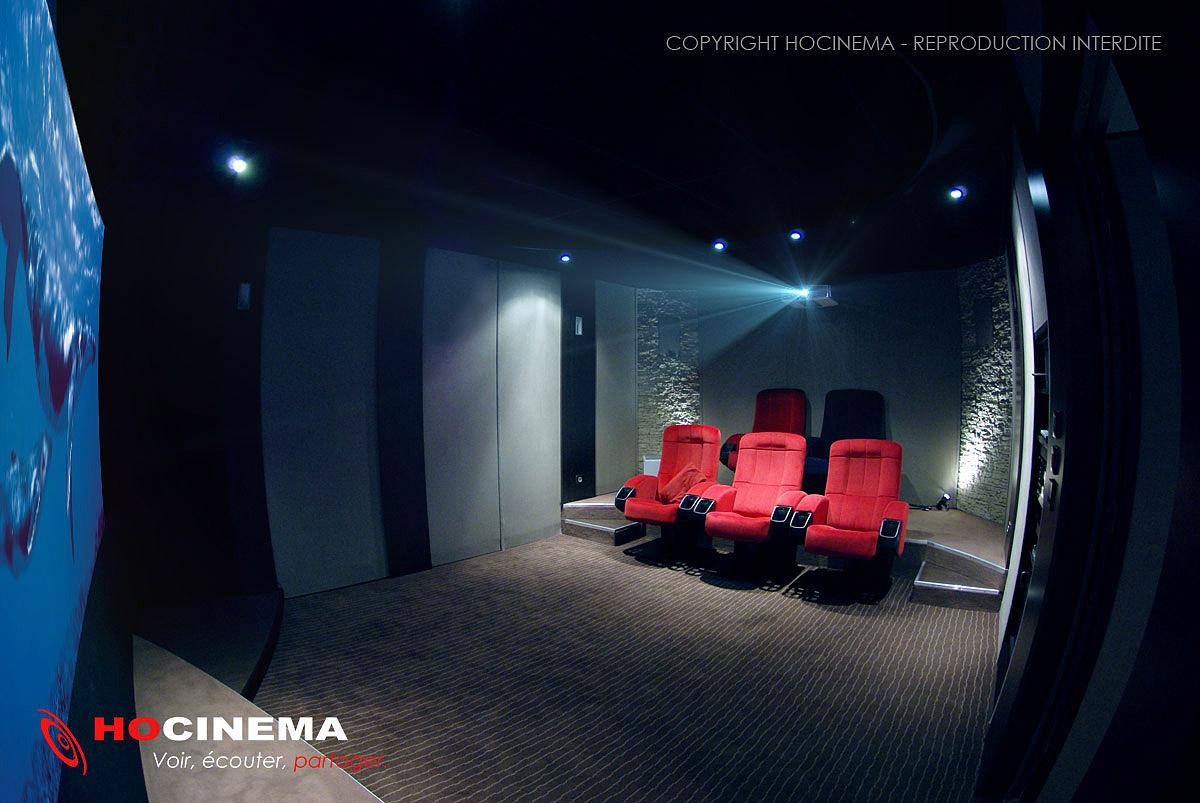 Salle Home Cinema Particulier | Idées décoration intérieure